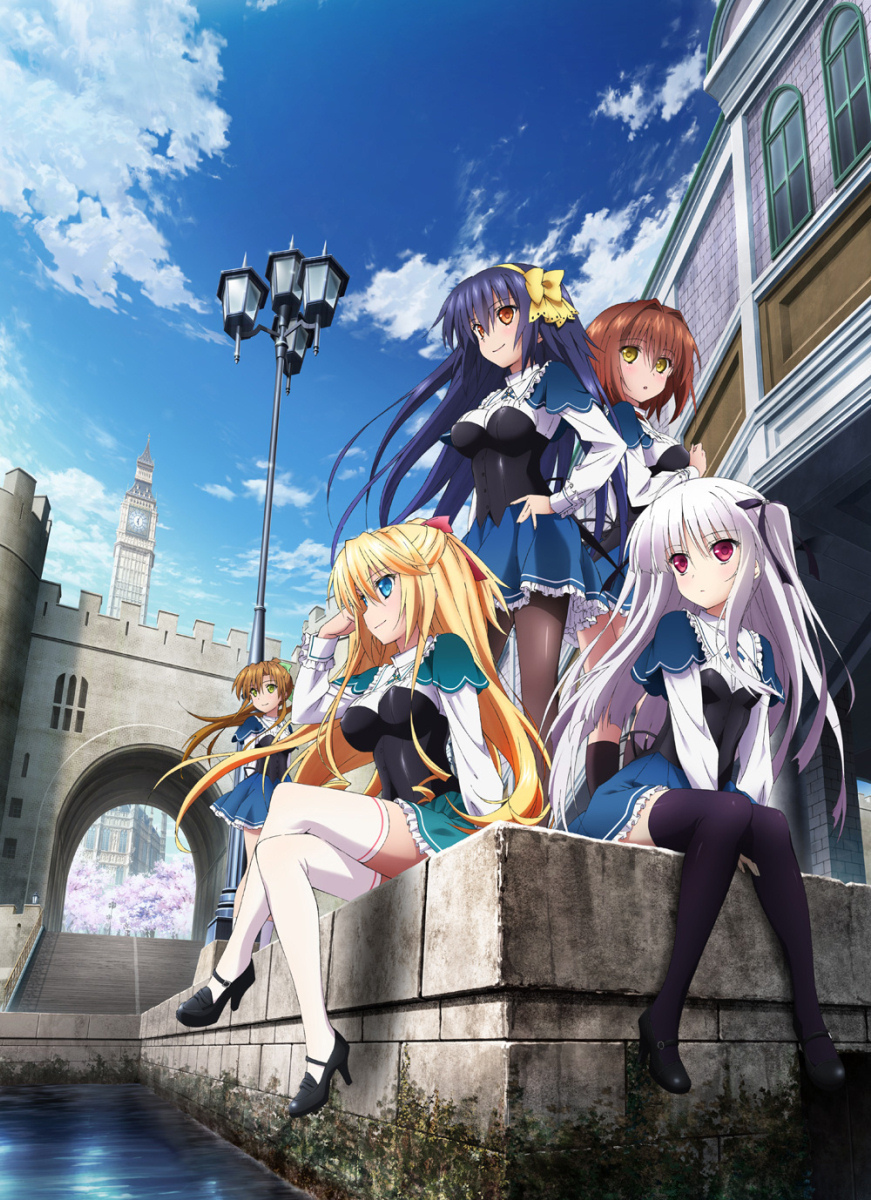 (合集)[DHR動研字幕組]绝对双刃/Absolute Duo[01-12][BIG5][720P][MP4]