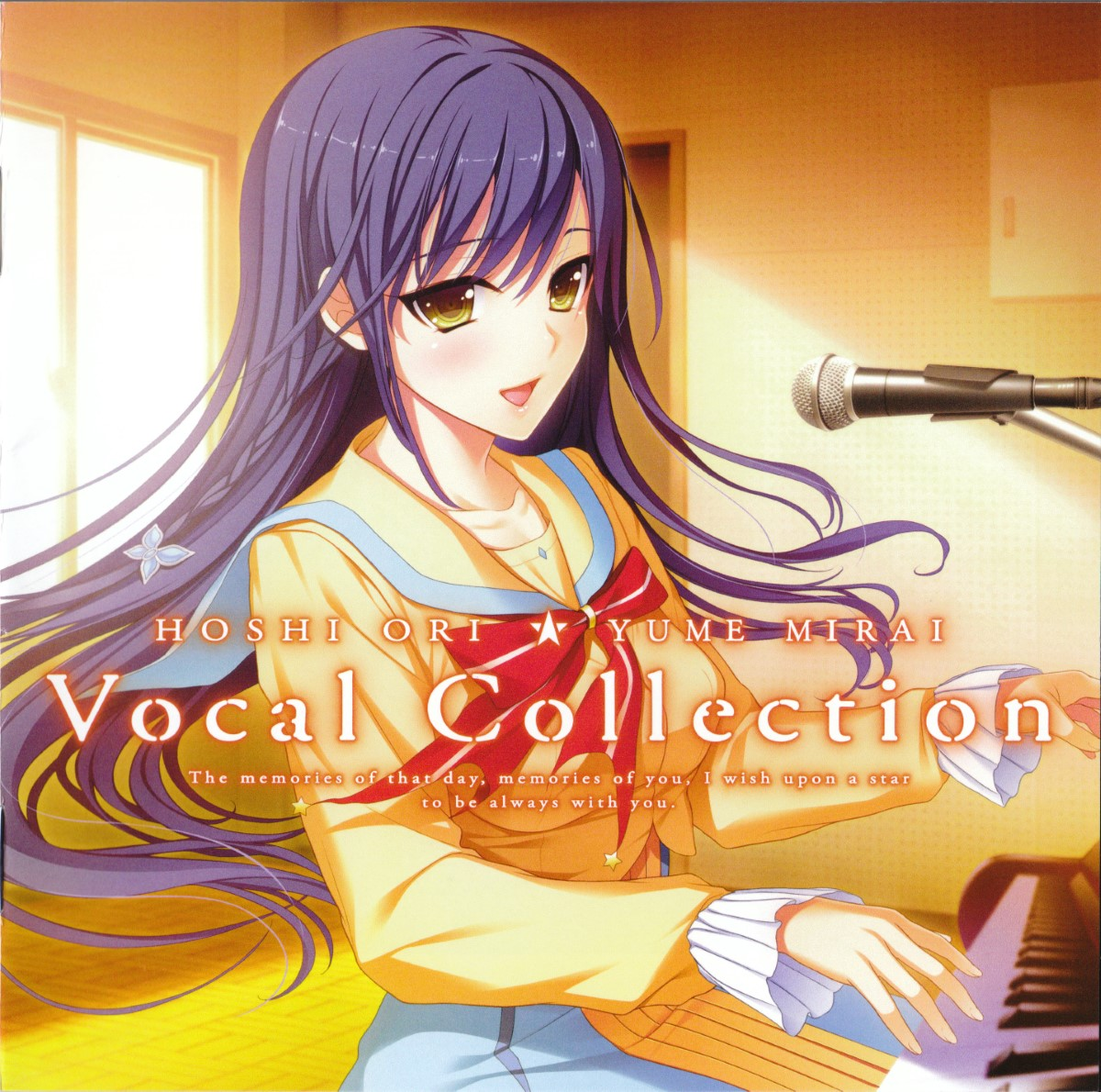 [140829][tone work's] 星織ユメミライ Vocal Collection [320K+BK]