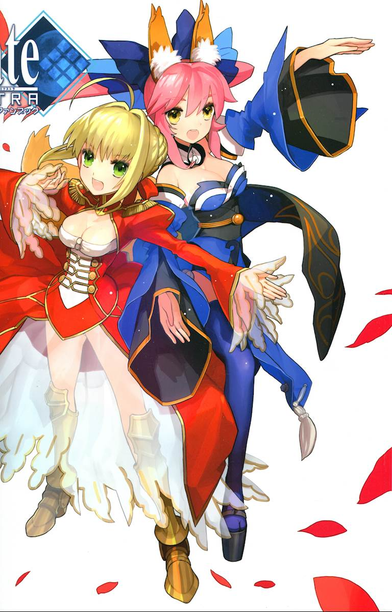 Fate Extra Visual Fanbook