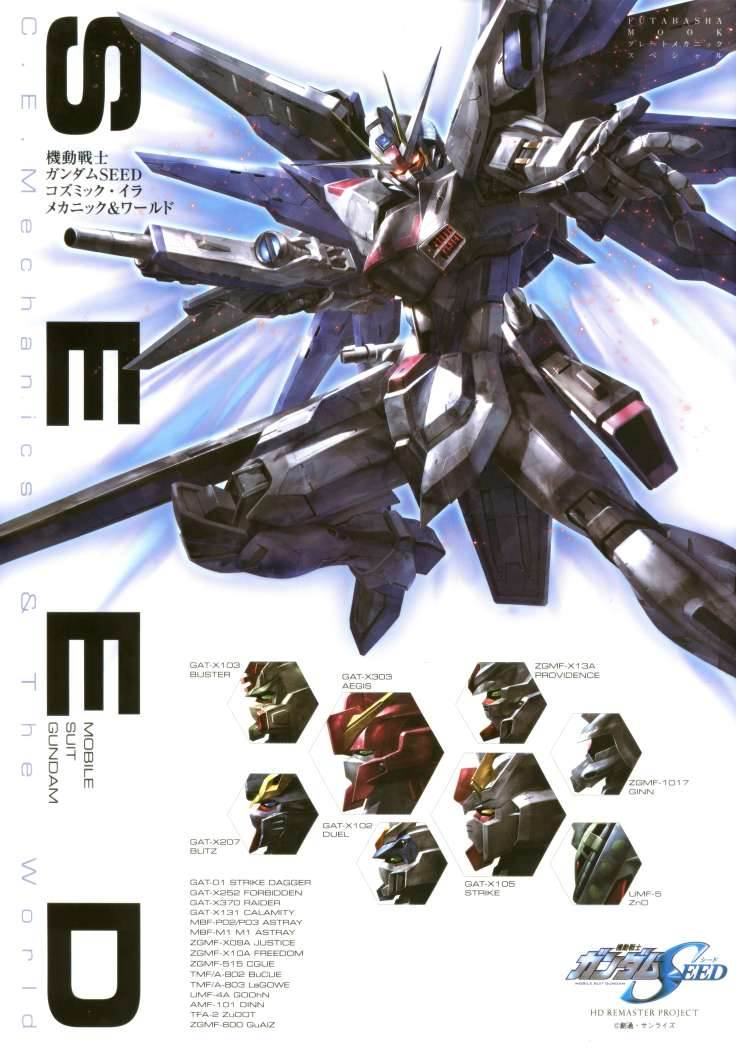 Mobile Suit Gundam Seed - C.E. Mechanics & The World